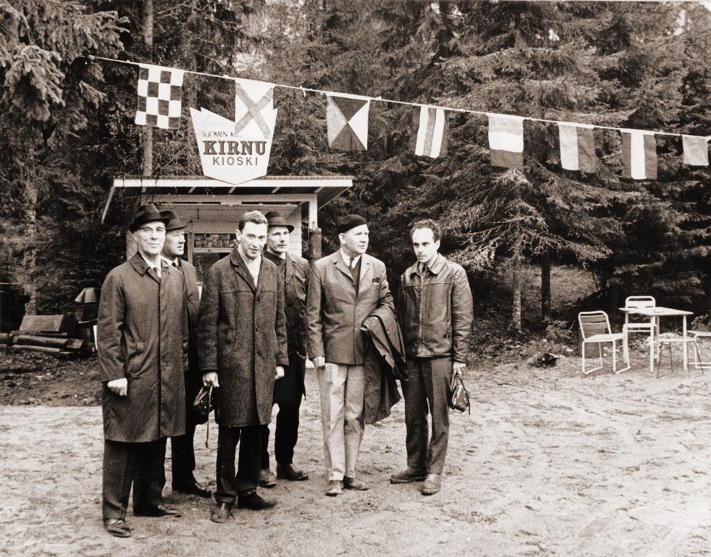 Alkuvuosina Askolan hiidenkirnuilla oli toimiva kioski